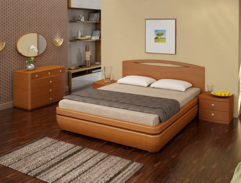 Купить кровать из массива Тау 1 D3