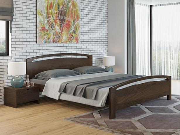 Купить кровать венге Веста 1 Райтон
