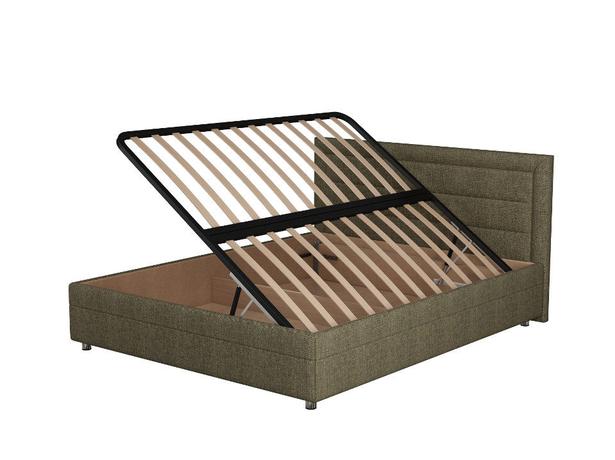 Кровать Life 2 Box  с боковым п/м Глазго Коричневый