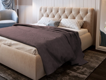 Кровать Каролина ткань