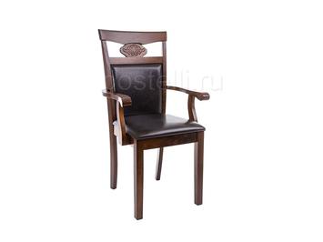 Кресло Luiza dirty oak / dark brown ( Арт.1996)