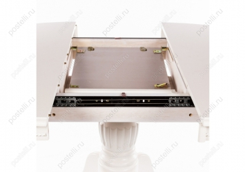 Стол раскладной Toskana 90 молочно-белый (Арт.1126)