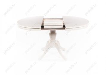 Стол раскладной Toskana 106 молочно-белый (Арт.1087)